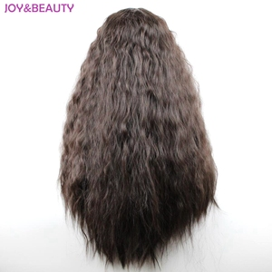 """Image 2 - JOY&BEAUTY 24"""" Long Synthetic High Temperature Fiber Hair Long Curly Wig Black/Brown Mix Women Cosplay Wig"""