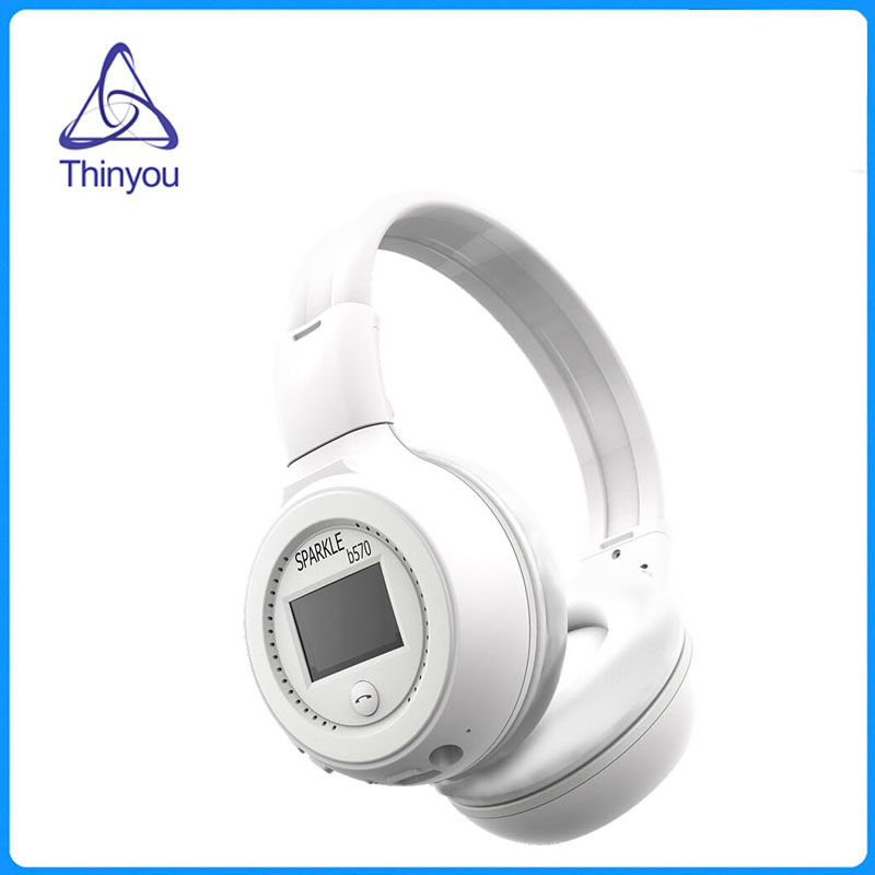 Thinyou High-End Over Ear Wireless Bluetooth Headphones with Microphone Stereo Bluetooth Headset Headphones for Phone PC Music 2016 new metal bluetooth stereo super bass headphones 8600 bluetooth 4 0 high fidelity wireless over ear headset for smart phone