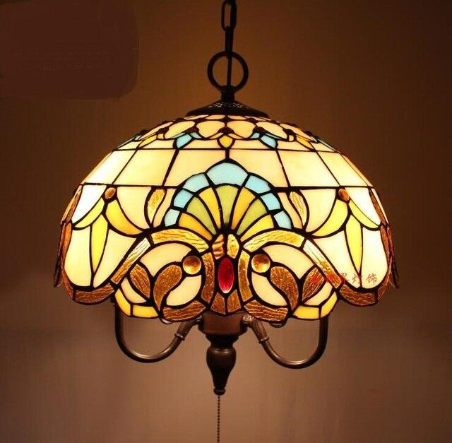Tiffany Dining Room Lamp Tiffany Baroque Pendant Light Bar Lamp Creative  Pull Switch Pendant Lamp DF34