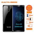 Oukitel K6 18:9 6.0'' FHD Display 6GB RAM 64GB ROM MTK6763 Octa Core 6300mAh 5V/3A Fast Charge Fingerprint 16MP 4 Cams Cellphone