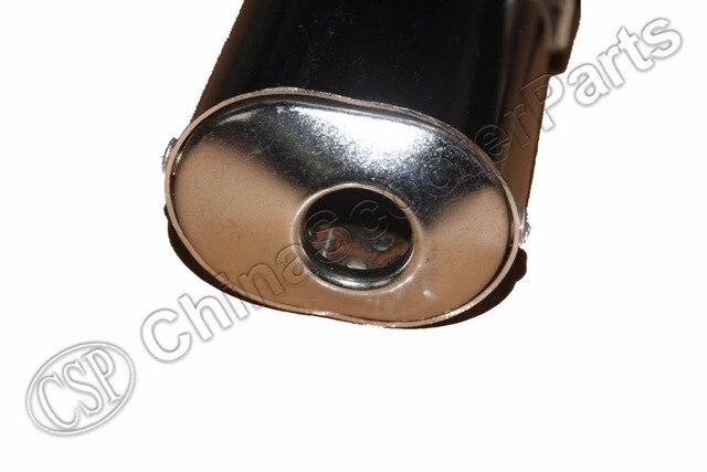 Silencieux système déchappement KTM 50 | Silencieux pour Mini SX PRO LC SILVER