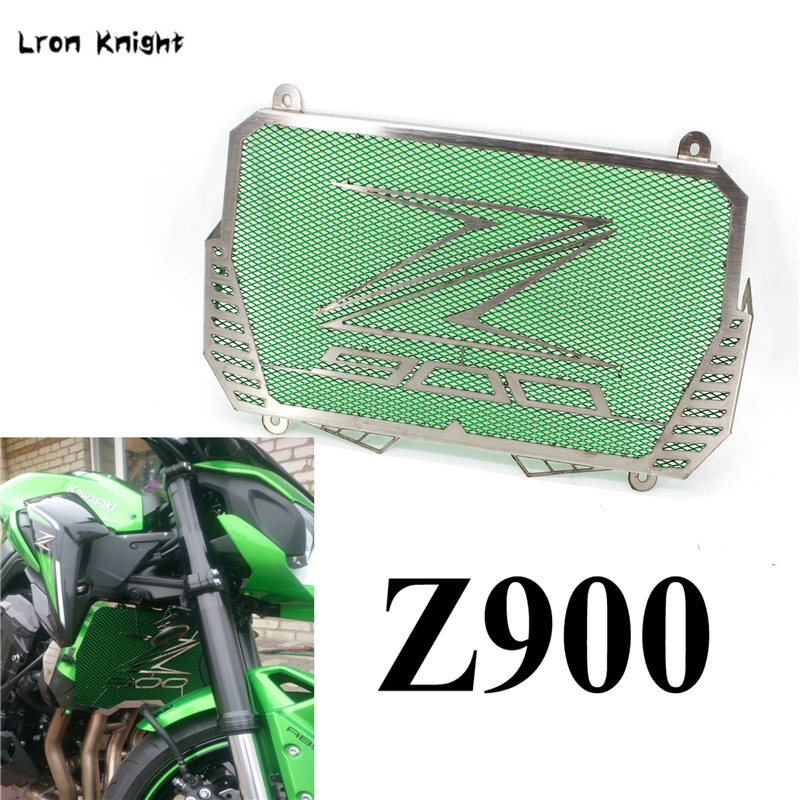 Motorcycle Radiator Grille Guard Cover stainless steel For KAWASAKI Z900 Z 900 2017 2018 Motor Oil Water Cooler Protector-in Covers & Ornamental Mouldings from Automobiles & Motorcycles    1