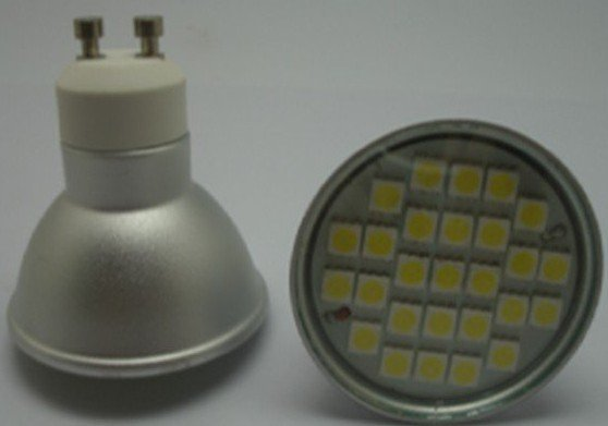 GU10 SMD LED spotlight,27pcs 5050 SMD LED,5W