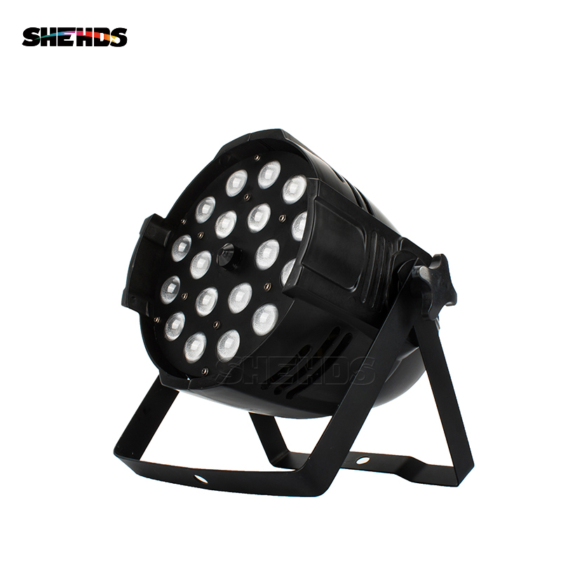 Top Seller LED Par 18x18W Light Zoom Function 10-60 Degree Smooth Dimmer RGBWA+UV 6in1 Color Changing Professional Stage & Dj