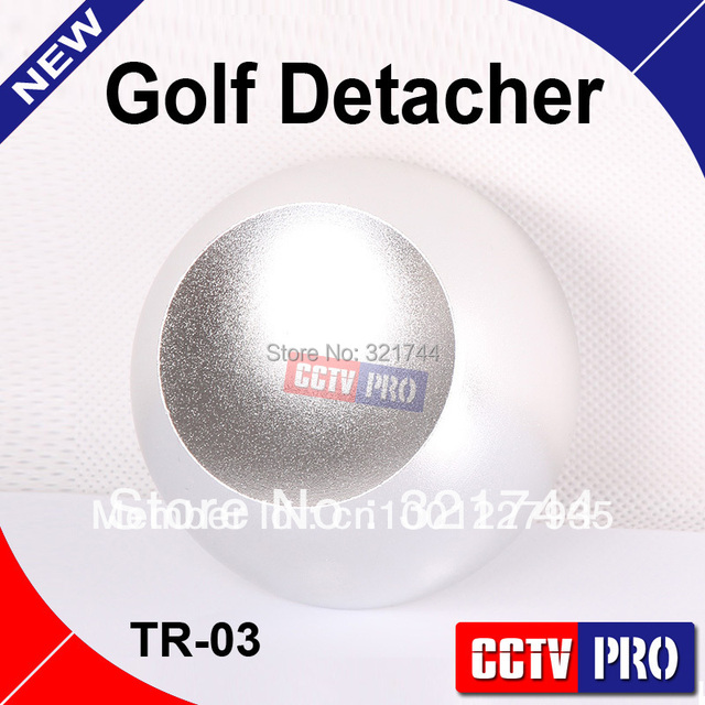 Super Golf Tag Detacher Security Tag Detacher Remover, EAS Tag Detacher High Magnetic Intensity 12000gs