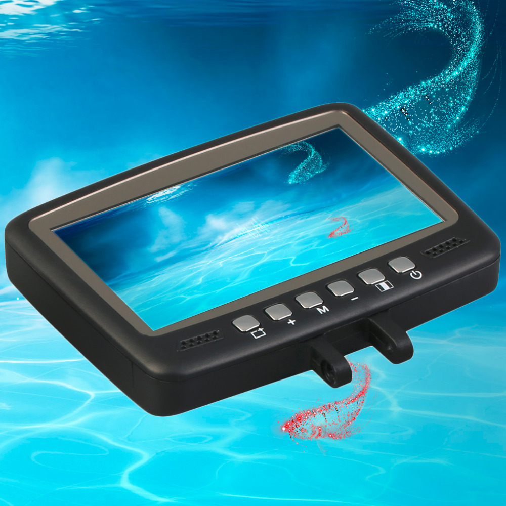 DVR Fish Finder Video Underwater Fishing Camera 4.3 Monitor Night Vision 30m Best Seller