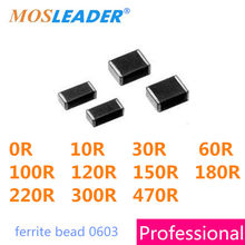 500 pieces Chips /& Arrays 60ohms 25/% EMI Filter Beads