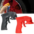 Car Styling Labor-saving Portable Plastic Dip Handle Spray Gun Rim Membrane Spray Gun Tools Sent At Random