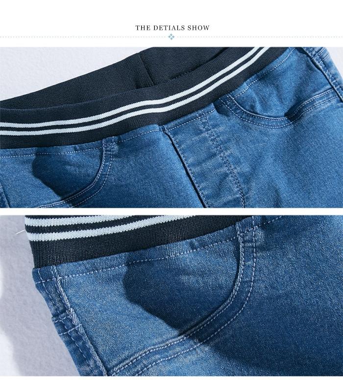 LEIJIJEANS Fashion Autumn Leggings Blue S 6XL Woman Mid Waist Plus Size women High Elastic Full Length Pants Skinny pencil Jeans 16