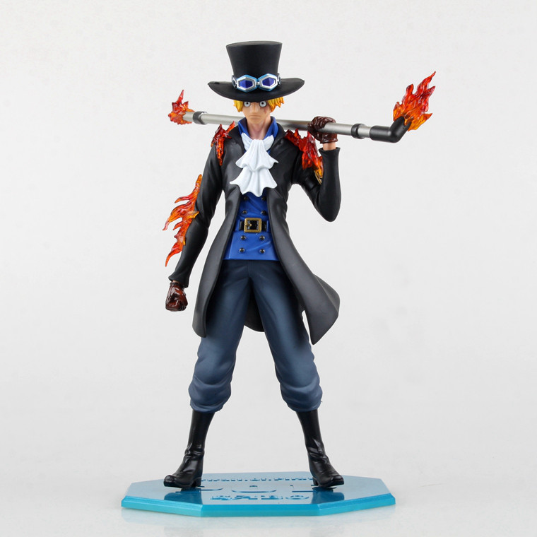 POP One Piece Sabo With Devil Fruit PVC Action Figure Toys Collective Doll 1025cm kunai one piece sabo pvc action figure toy sabo model collections toy gift doll 16cm anime toys free shipping