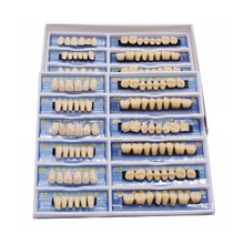 168PCS Acrylic Resin Denture Teeth Upper Lower Shade A2 Whitening Tooth For Dental Model Oral Test Practive Class Education