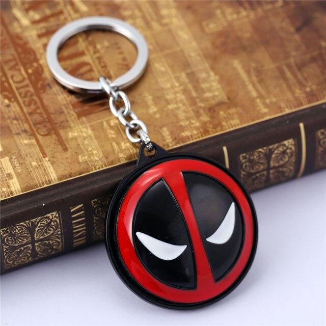 Deadpool Mask keychain Rotatable 5
