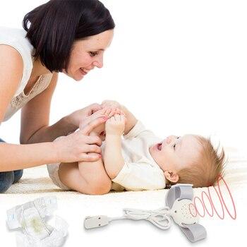 Профессиональная безопасность ребенка ночное недержание Сенсор сигнализации мокрой напоминание для маленьких детей недержание Предупреж...