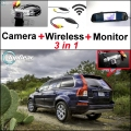 3 in1 Special Rear View Wifi Camera + Wireless Receiver + Mirror Monitor Easy DIY Parking System For Volvo XC90
