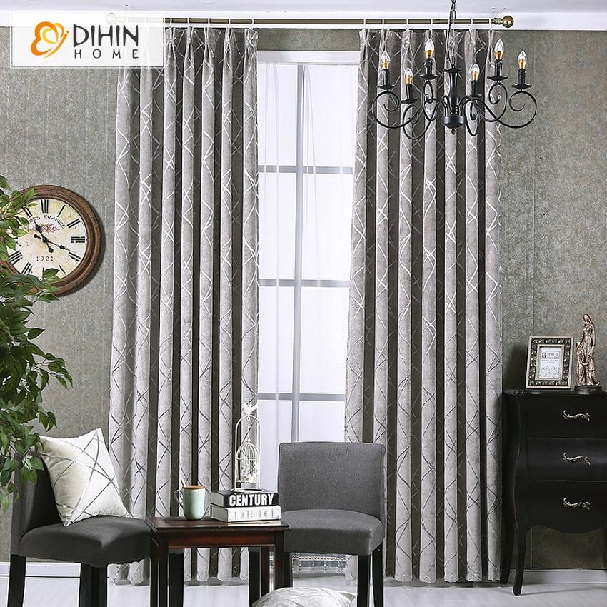 Dihin 1 Pc Modern High Quality Window Curtains For Living