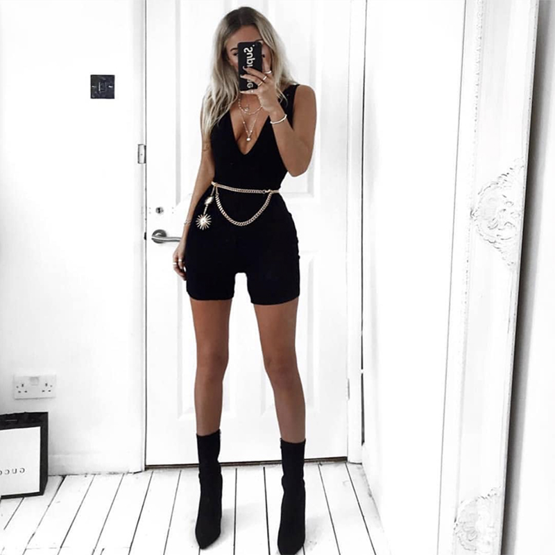 Colysmo Sexy Jumpsuit Plus Size Playsuit Jumpsuits For Women 2018 Summer Bodysuit Body Feminino One Piece Overalls Jumpsuit New 1
