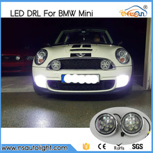 Free Shipping 18W Daylight guide design LED Daytime Running fog lights/ Rally light for All Mini cars For Mini cooper/countryman
