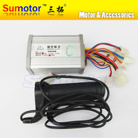 24V 800W Brush Speed Controller With Handle For Motor Electric Bicycle Electric Bike Controller E Bike