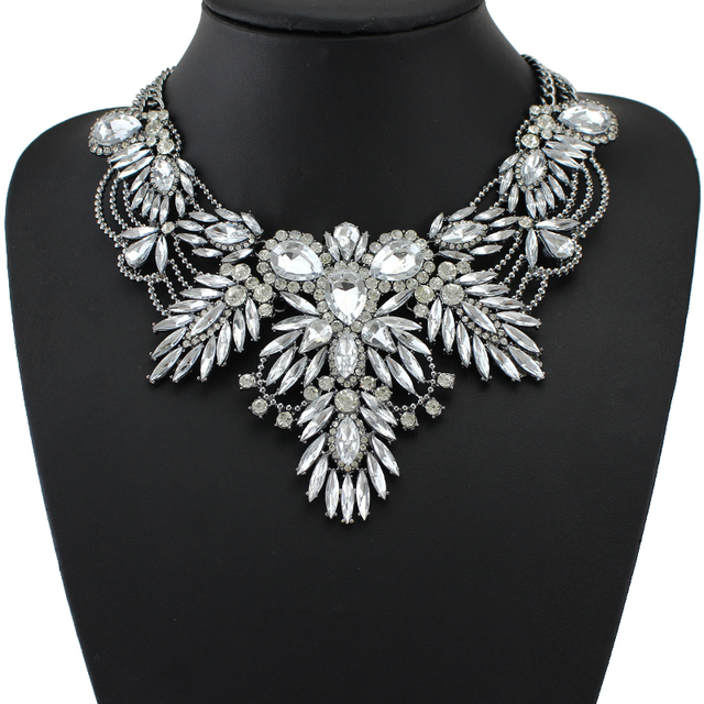 New Colorful Maxi Vintage Necklace