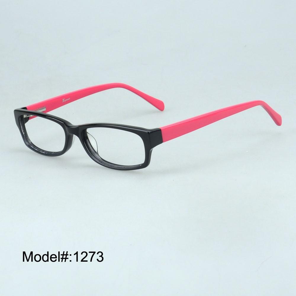 1273 бесплатная доставка мода очки ацетата оправы рецепту ГХ очки