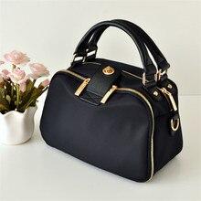 Новая Водонепроницаемая нейлоновая сумка через плечо в Корейском стиле, сумка на плечо из ткани Оксфорд, простая сумка для отдыха