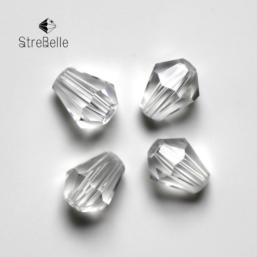 Online Shop 100 pcs Teardrop Glass Rhinestone Crystals Stone Pear ...