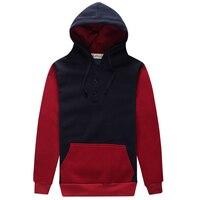 2017 Hoodies Men Sudaderas Hombre Hip Hop Mens Brand Hoodie Decorative Pocket Sweatshirt Suit Slim Fit