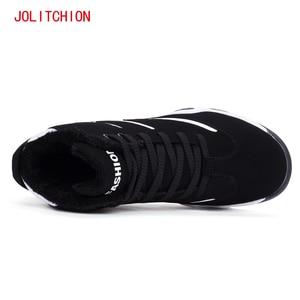 Image 5 - 2018 אופנה גברים של נעליים יומיומיות חורף סניקרס גובה הגדלת אוויר כרית Krasovki נוח גומי נעלי קטיפה