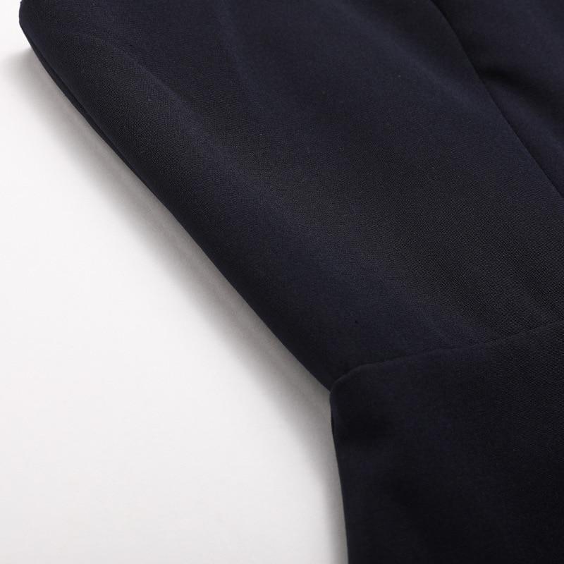 D'été Dress Soirée De Black Hors Femmes 2018 Dress Robe Bretelles Sexy Haute Long L'épaule navy Parti Blue Noir Fente Longue Marine Maxi Bleu FAXqXB