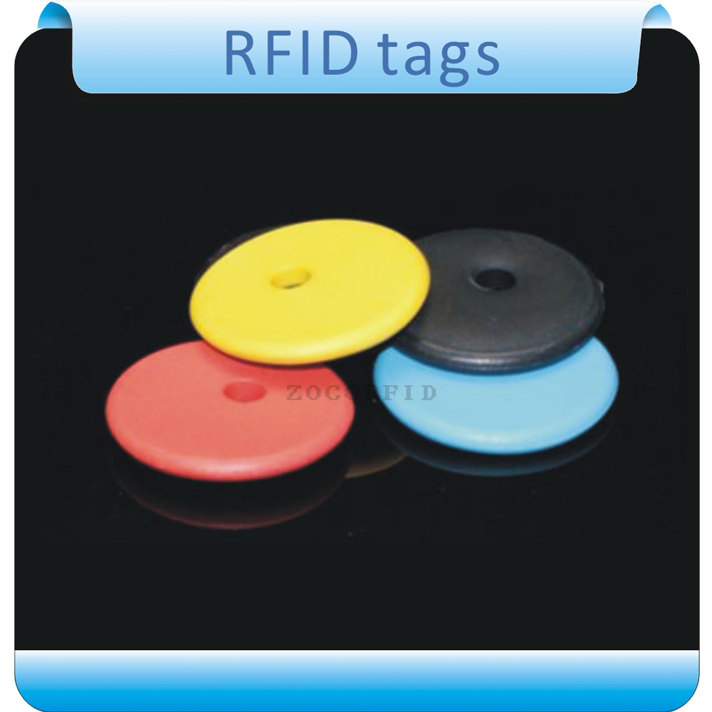 Free Shipping100pcs 125KHZ -134.2KHZ EM4305  RFID  Tags For Clothes  Laundry  High Temperature  Labels Roll Clothing Wash Label