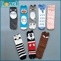 Christmas Gift Cotton Kids Socks Brand Designer Kawaii Pattern Children's Socks Boys Girls Cute High Socks Baby Leg Warmers