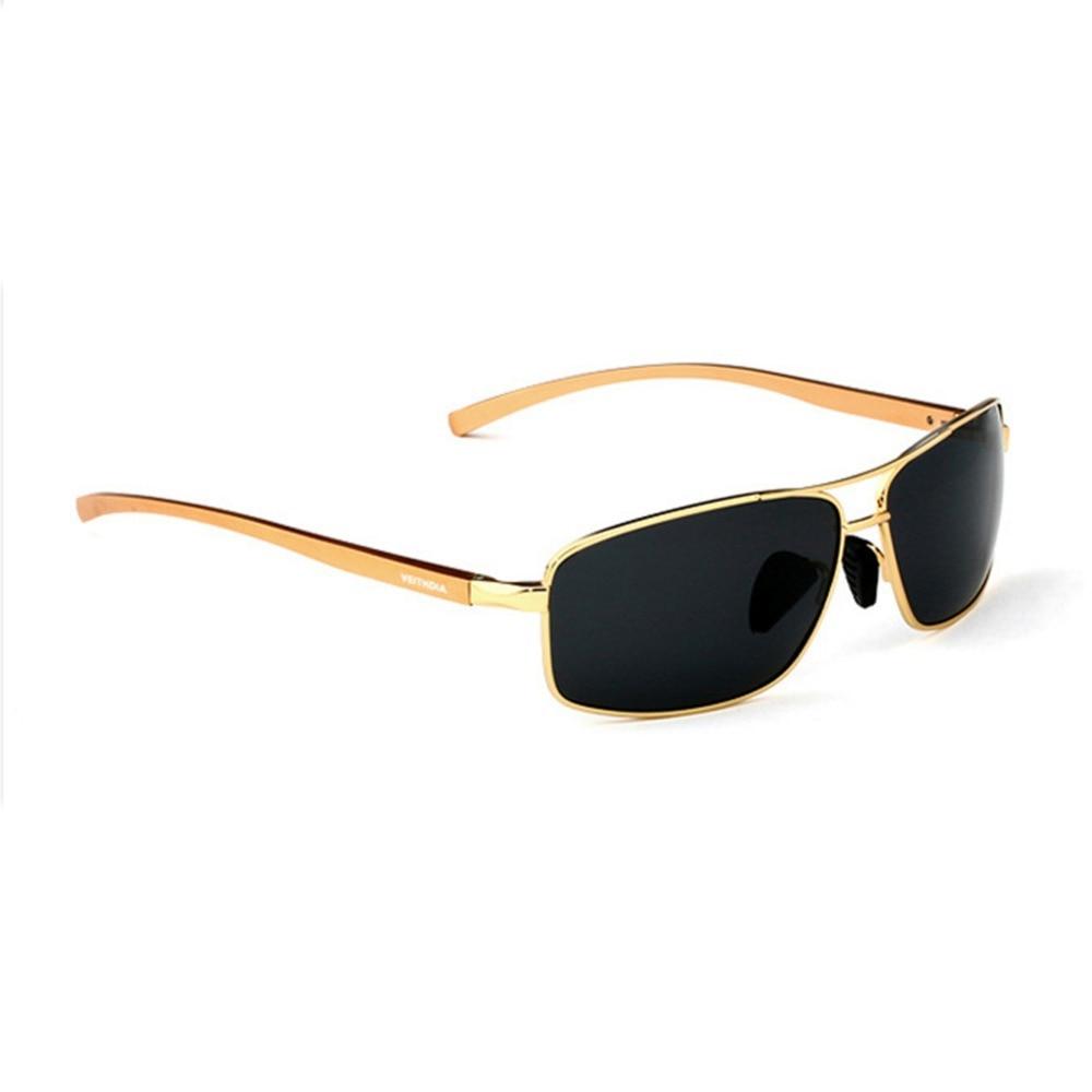 Veithdia Drivers Mirror Men's Polarizer Drive Sunglasses