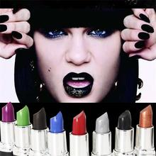 individuality Matte Vampire Dark Red Lipstick Cosmetic Punk Purple Wat
