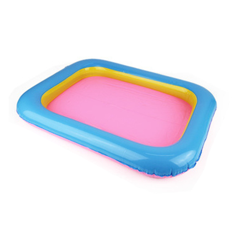 Indoor Magic Play Inflatable Sandbox Sand Tray Accessories Children Toys Mars Space Tray Accessories Plastic Mobile Table