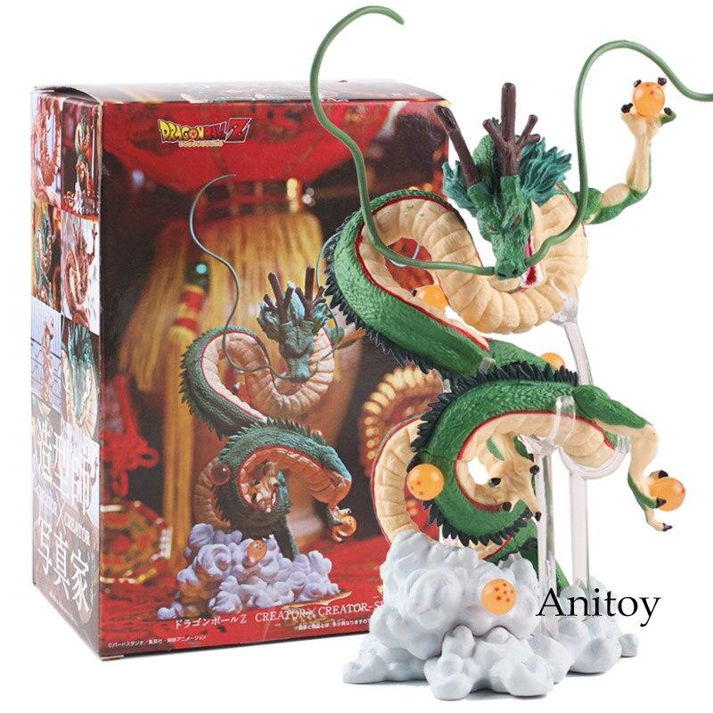 Japon Anime Dragon Ball Z Figure Shenron enroulement Dragon Action Figure PVC jouet cadeau 14.5 ~ 15.5 cm
