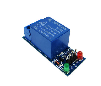1PCS 1 Channel 5V Relay Module Low Level For SCM Household Appliance Control For