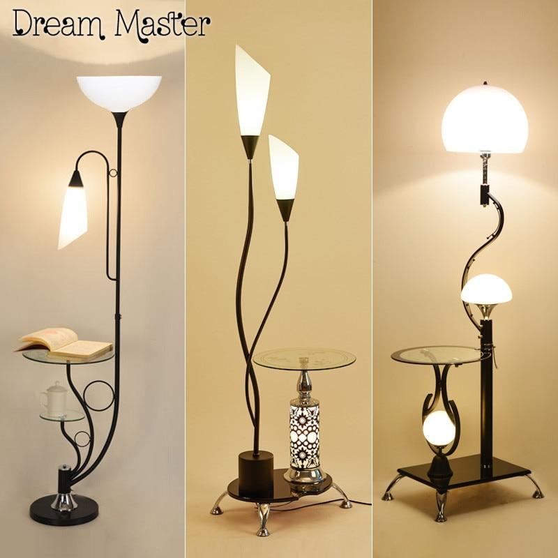 Led Floor Lamp Table Lamp Room Simple Modern Bedroom Study