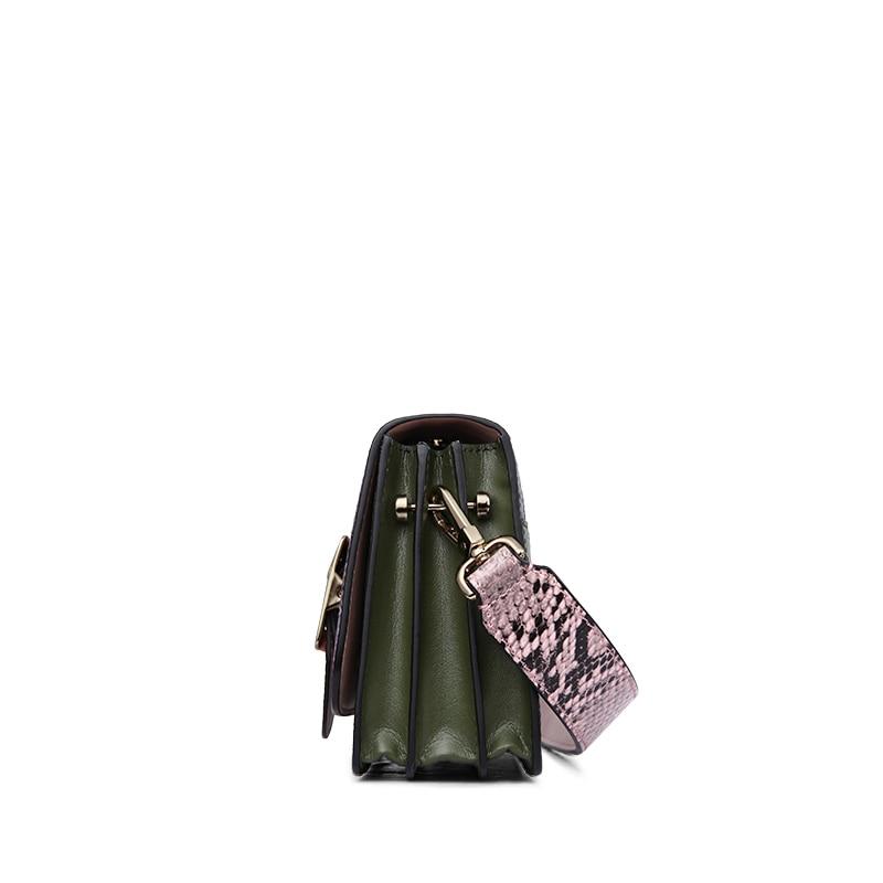 ¡CALIENTE! Bolso de cuero genuino para las mujeres diseñador de - Bolsos - foto 4