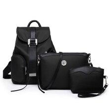 La nueva tendencia de moda bolso de hombro versátil 3 unids/set bolso messenger bag vendedor caliente