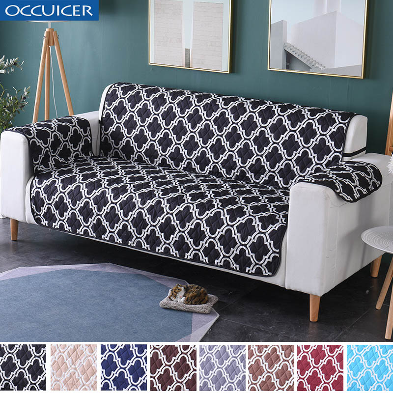 Miraculous Us 21 42 49 Off Waterproof Quilted Sofa Covers For Dogs Pets Kids Recliner Armchair Couch Slipcover Furniture Protector Anti Slip 1 2 3 Seater In Customarchery Wood Chair Design Ideas Customarcherynet