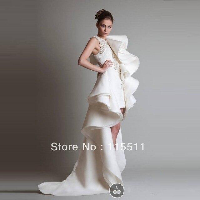 4eb49398a3d5 Exquisite design style top quality scoop applique A-line charming fancy  style evening gown fashion unique evening dresses