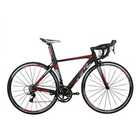 RichBit Ultra Light Road Race Bicycle 18 Speeds 9 Gears Cassette Carbon Fiber Fork Shimano 3500 Aluminum 700C*46/48cm Road Bike