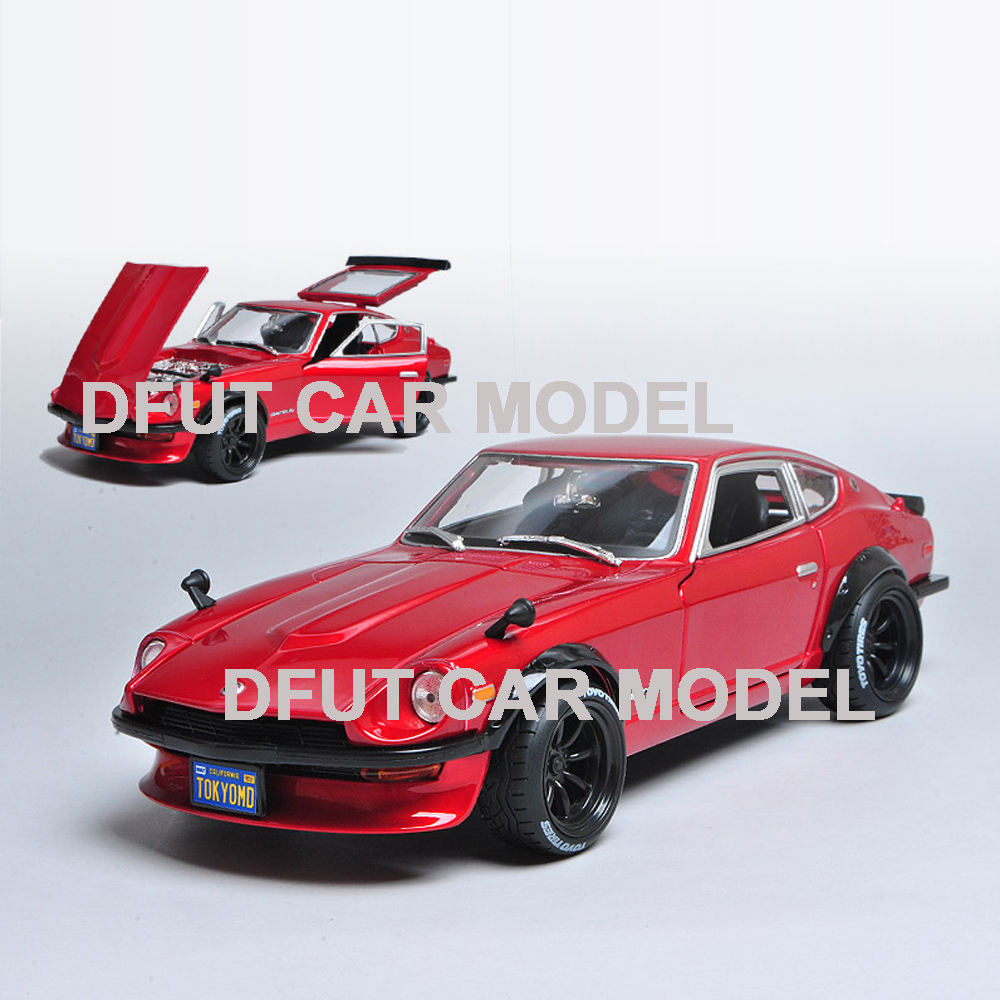 <font><b>1:18</b></font> Alloy Toy <font><b>Car</b></font> Business Purpose Model <font><b>Nissan</b></font> Datsun 240Z <font><b>Cars</b></font> Original Authorized Authentic For Gift & Collection image