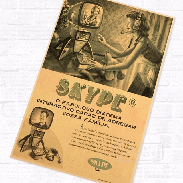 Social Software Facebook Propaganda Vintage Travel Poster Retro ...