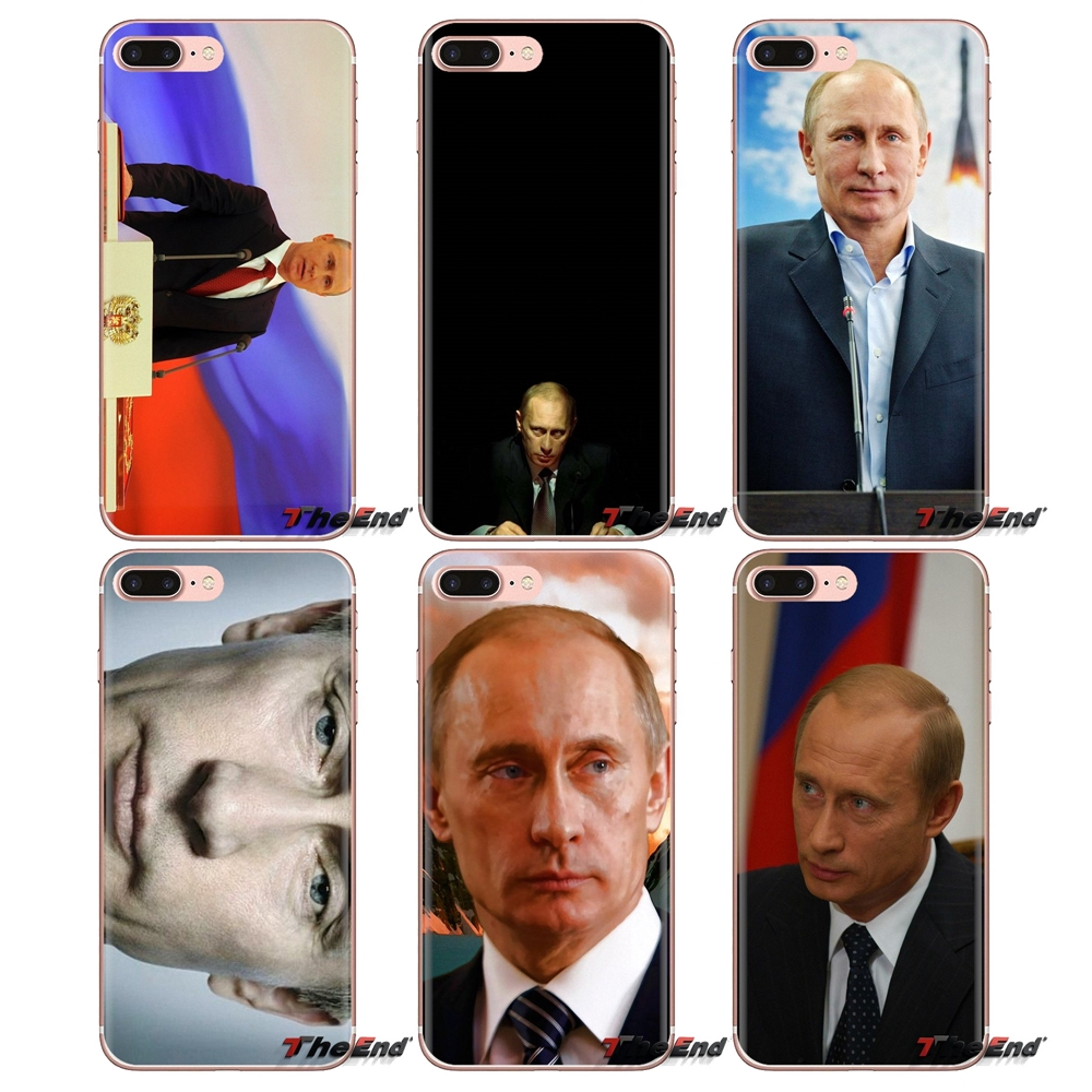 Soft TPU Phone Case For Samsung Galaxy J1 J2 J3 J4 J5 J6 J7 J8 Plus 2018 Prime 2015 2016 2017 Putin Vladimir Putin The president