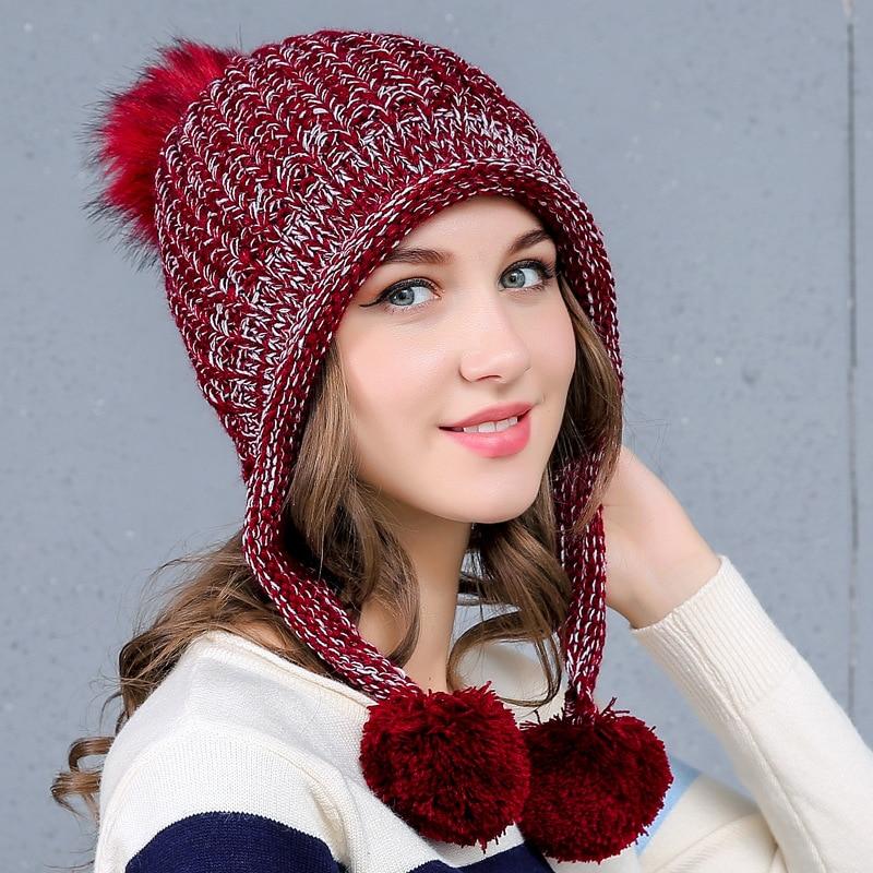 Winter hat female-1764