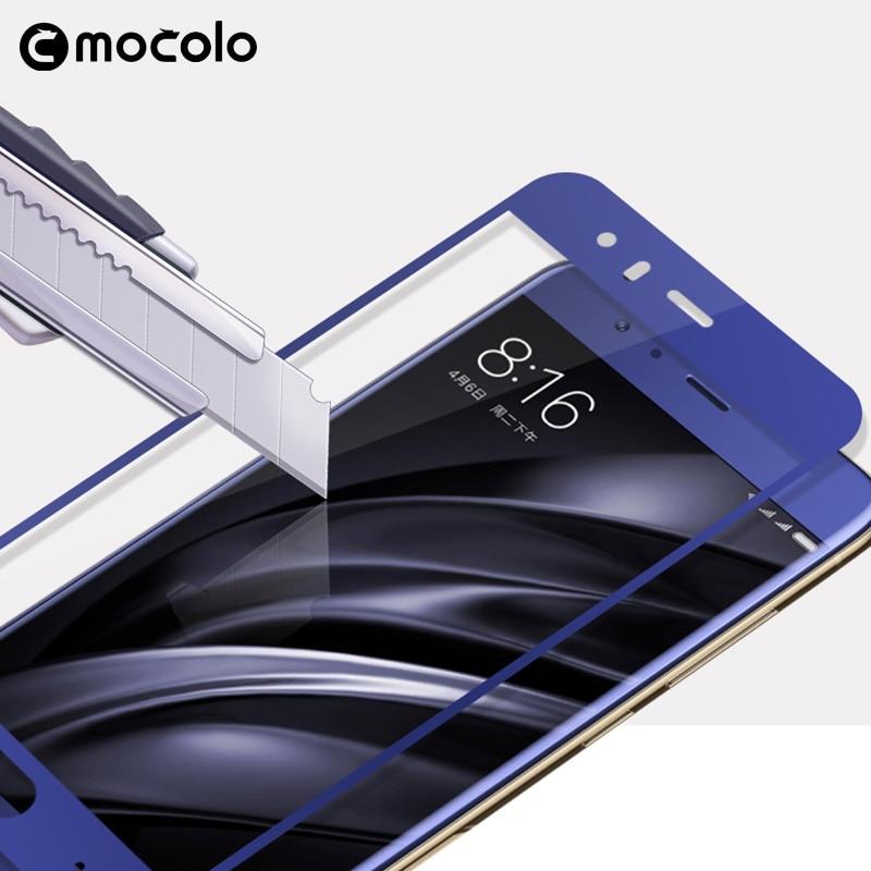 Mocolo Tempered glass για Xiaomi mi 6 mi 6 m6 full Screen - Ανταλλακτικά και αξεσουάρ κινητών τηλεφώνων - Φωτογραφία 4