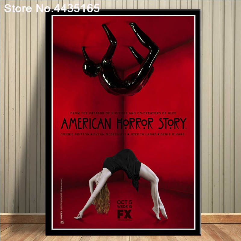 American Horror Story Tv Movie Poster Canvas Painting Wall Art