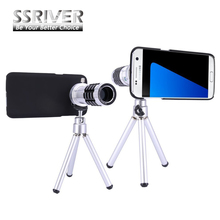 Promo offer For Samsung Galaxy S7 Edge 12X Optical Zoom Telescope Camera Lens+Tripod +Back Case Cover Phone 12X Zoom Lens