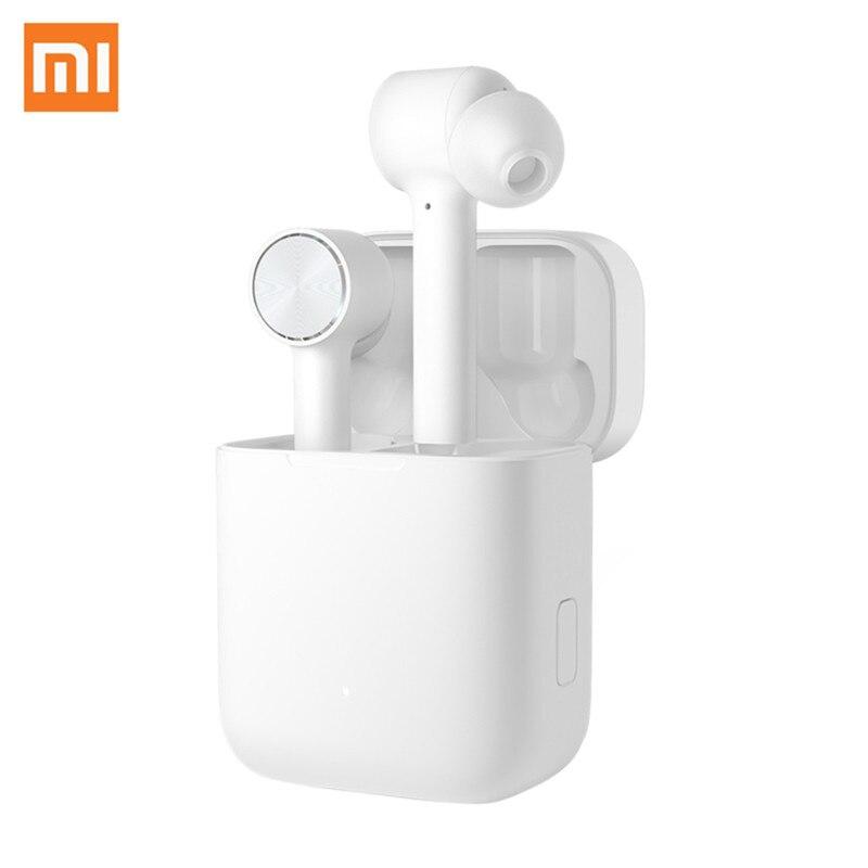 Écouteurs sans fil Xiao mi Airdots Pro mi Air TWS casque Bluetooth ACCHD contrôle automatique du robinet de Pause pour téléphone IOS et Android